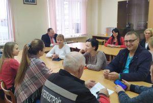 Встреча с заместителем главы администрации Лобко А.Ю