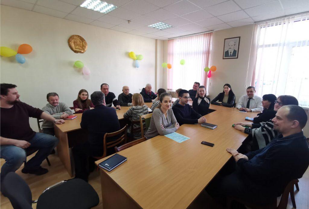 Встреча с Тимофеевой Еленой Андреевной в рамках плана работы комиссии по противодействию коррупции ООО «БЕЛГАЗНАЛАДКА» на 2020 год